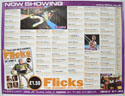 FLICKS FEBRUARY 2000 Cinema Quad Movie Poster