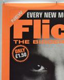 FLICKS JANUARY 2000 (Top Left) Cinema A1 Movie Poster