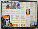 FLICKS JANUARY 2000 Cinema Quad Movie Poster