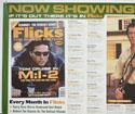 FLICKS JULY 2000 (Top Left) Cinema Quad Movie Poster