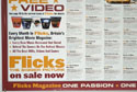 FLICKS JUNE 2000 (Bottom Left) Cinema Quad Movie Poster