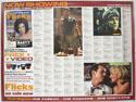 FLICKS JUNE 2000 Cinema Quad Movie Poster