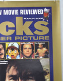 FLICKS MARCH 2000 (Top Right) Cinema A1 Movie Poster