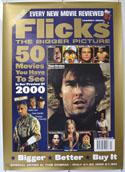 FLICKS MARCH 2000 Cinema A1 Movie Poster