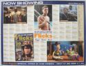 FLICKS MARCH 2000 Cinema Quad Movie Poster