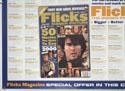 FLICKS MARCH 2000 (Bottom Left) Cinema Quad Movie Poster