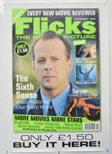 FLICKS NOVEMBER 1999 Cinema A1 Movie Poster