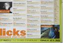 FLICKS NOVEMBER 1999 (Bottom Right) Cinema Quad Movie Poster