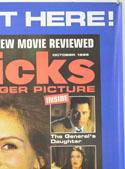 FLICKS OCTOBER 1999 (Top Right) Cinema A2 Movie Poster