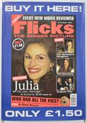 FLICKS OCTOBER 1999 Cinema A2 Movie Poster
