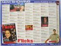 FLICKS OCTOBER 1999 Cinema Quad Movie Poster