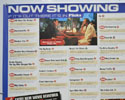 FLICKS OCTOBER 1999 (Top Left) Cinema Quad Movie Poster