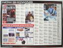 FLICKS OCTOBER 2000 Cinema Quad Movie Poster