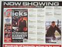 FLICKS OCTOBER 2000 (Top Left) Cinema Quad Movie Poster