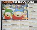 FLICKS SEPTEMBER 1999 (Top Left) Cinema Quad Movie Poster