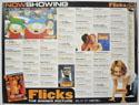 FLICKS SEPTEMBER 1999 Cinema Quad Movie Poster