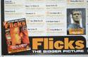 FLICKS SEPTEMBER 1999 (Bottom Left) Cinema Quad Movie Poster