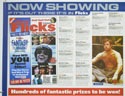 FLICKS SEPTEMBER 2000 (Top Left) Cinema Quad Movie Poster