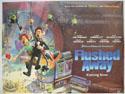 FLUSHED AWAY Cinema Quad Movie Poster