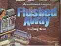 FLUSHED AWAY (Bottom Right) Cinema Quad Movie Poster