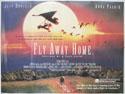 FLY AWAY HOME Cinema Quad Movie Poster