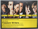 FREEDOM WRITERS Cinema Quad Movie Poster