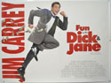 FUN WITH DICK AND JANE Cinema Quad Movie Poster