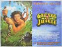 GEORGE OF THE JUNGLE Cinema Quad Movie Poster