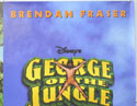 GEORGE OF THE JUNGLE (Top Right) Cinema Quad Movie Poster
