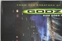 GODZILLA (Top Left) Cinema Quad Movie Poster