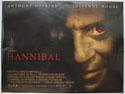 HANNIBAL Cinema Quad Movie Poster
