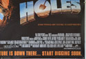 HOLES (Bottom Right) Cinema Quad Movie Poster