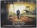 I AM LEGEND Cinema Quad Movie Poster