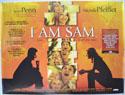 I AM SAM Cinema Quad Movie Poster