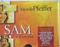 I AM SAM (Top Right) Cinema Quad Movie Poster