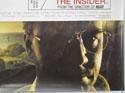 THE INSIDER (Bottom Right) Cinema Quad Movie Poster