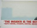 THE INSIDER (Top Left) Cinema Quad Movie Poster