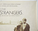 INTO THE ARMS OF STRANGERS (Top Right) Cinema Quad Movie Poster