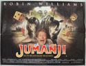 JUMANJI Cinema Quad Movie Poster