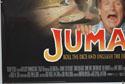JUMANJI (Bottom Left) Cinema Quad Movie Poster