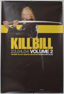 KILL BILL VOL.2 Cinema Double Crown Movie Poster