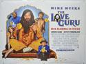 THE LOVE GURU Cinema Quad Movie Poster