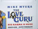 THE LOVE GURU (Top Right) Cinema Quad Movie Poster