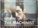 THE MACHINIST Cinema Quad Movie Poster