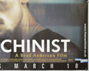 THE MACHINIST (Bottom Right) Cinema Quad Movie Poster