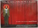 MAN ON THE MOON Cinema Quad Movie Poster