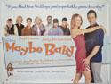 MAYBE BABY Cinema Quad Movie Poster