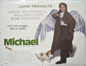 MICHAEL Cinema Quad Movie Poster