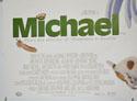 MICHAEL (Bottom Left) Cinema Quad Movie Poster