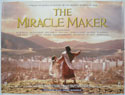 THE MIRACLE MAKER Cinema Quad Movie Poster